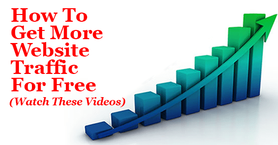 how to get more website traffic for free